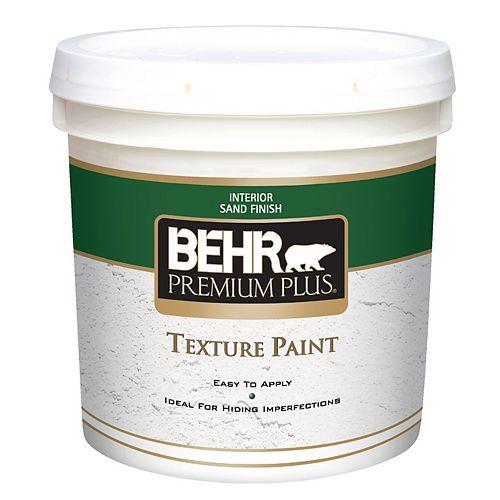 PREMIUM PLUS Peinture Texturée - Fini Sable, 7,58L