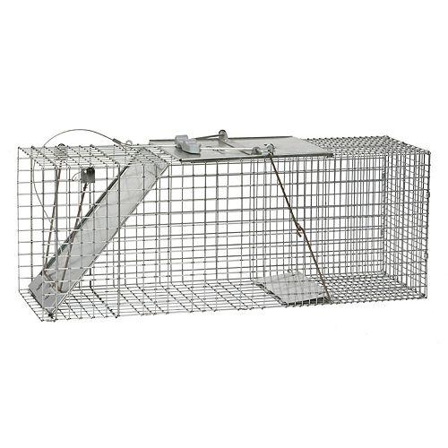 Havahart Easy Set Large 1 Door Animal Trap The Home Depot Canada