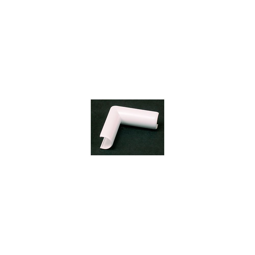 Legrand Wiremold Plastic Cordmate Inside Elbow White The Home Depot Canada