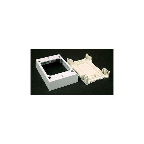 Non-metallic Extra Deep Outlet Box White