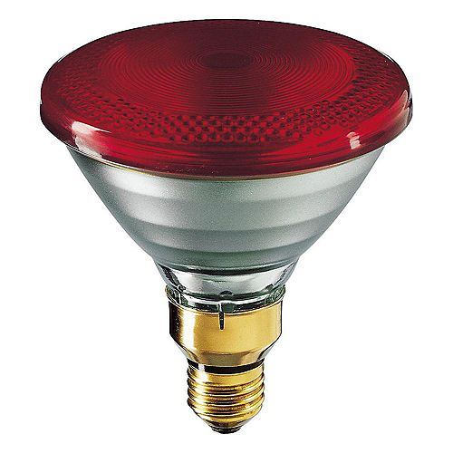 Philips Incandescence infrarouge PAR38 175 W Lampe infrarouge 175 W rouge