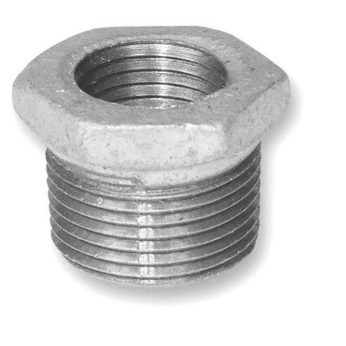 Aqua-Dynamic Raccord Fonte Galvanisée Douille Hexagonale 2 Pouce x 1-1/2 Pouce