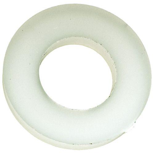 1/4-inch Nylon Flat Washers