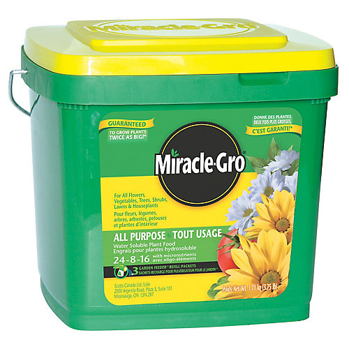 Aliment végétal tout usage hydrosoluble 24-8-16-16 - 1,71 kg