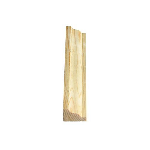 Alexandria Moulding Knotty Pine Crown/Panel Millilitres d 3/4-inch x 1-1/4-inch