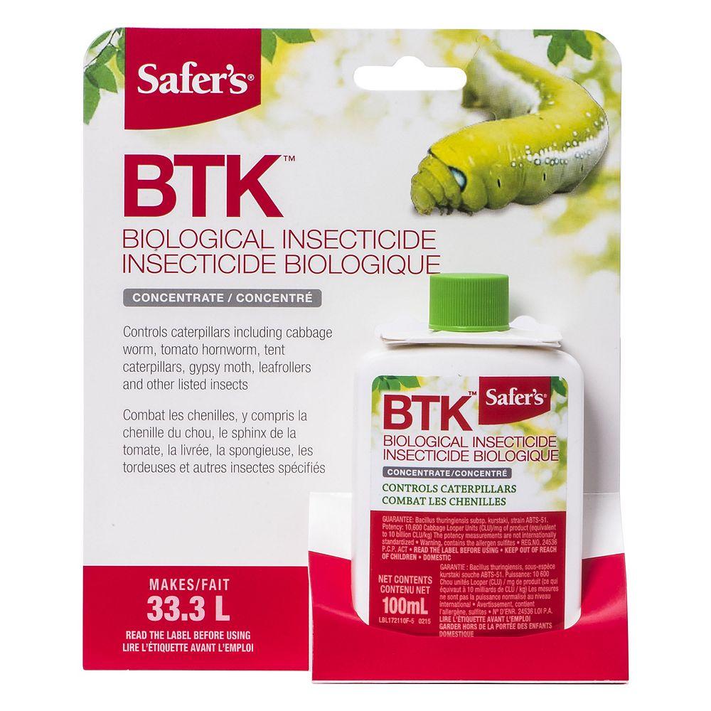 Safer BTK Caterpillar Killer 100mL Concentrate