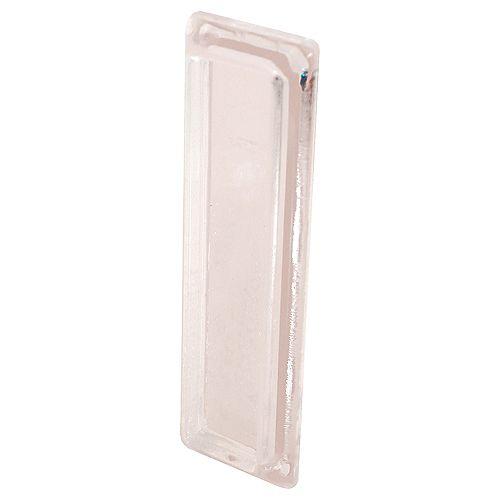 Passe-main fenêtre en plastique transparent, autoadhésif (paquet de 2)