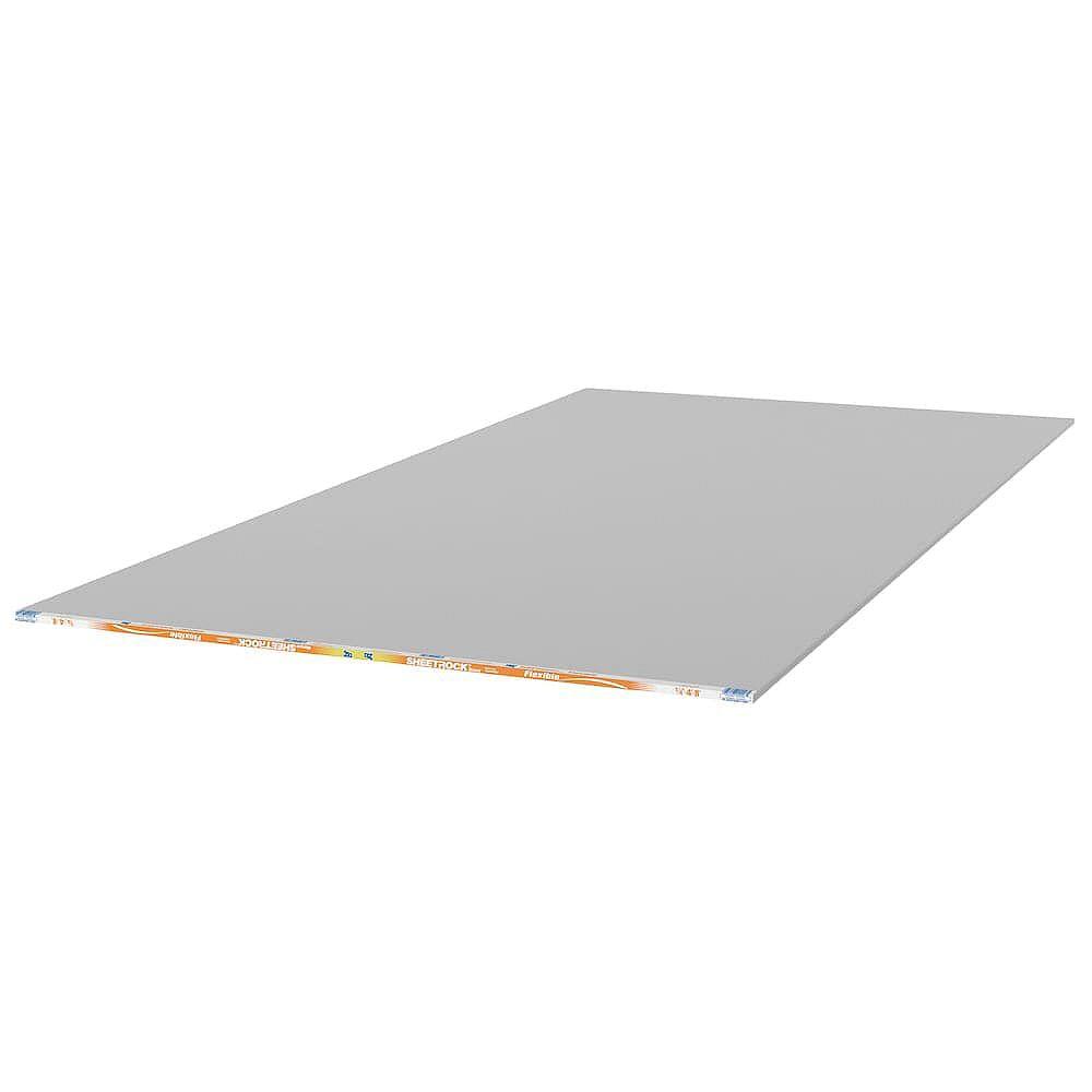 CGC Sheetrock 1/4 in. x 4 ft. x 8 ft. Flexible Drywall Panel