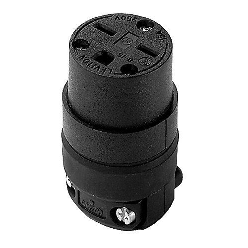 15 Amp Rubber Ground Connector 250V