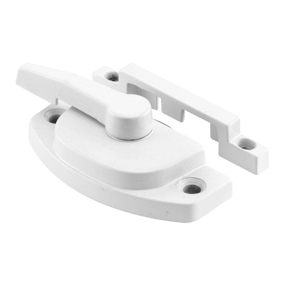 White Casement Handle Folding Prime-Line Products 173544 Universal Spline