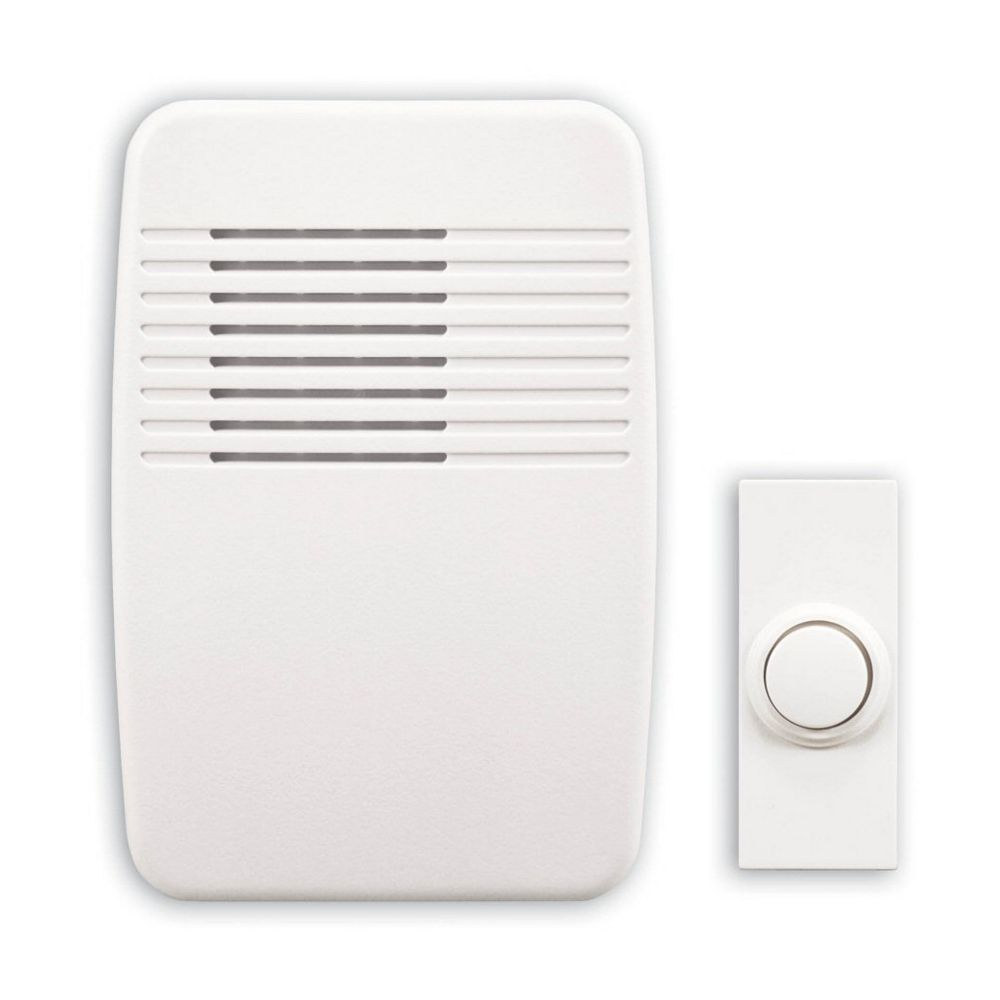 Heath Zenith Wireless Plug-In Door Chime Kit