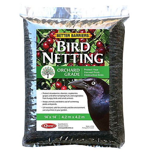 Bird D-Fence 14 ft. x 14 ft. Protective Netting