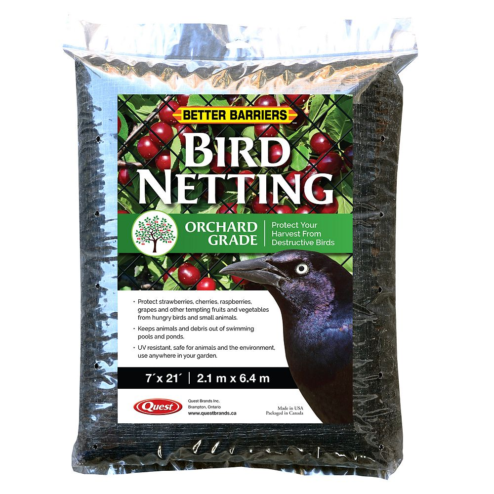 Better Barriers Bird D-Fence 7 ft. x 21 ft. Protective Netting