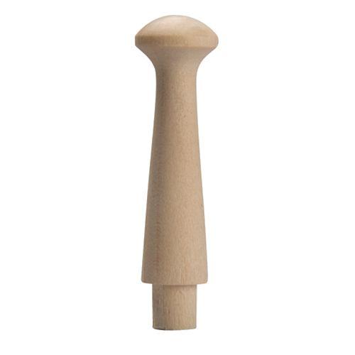 Longue cheville Shaker en érable 7/8 x 3 1/2, bois franc - sac/2
