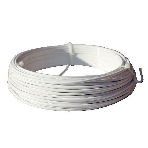 Master Halco 9ga White Weaving Wire (100 Feet)