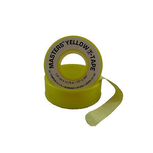 1/2 inch X 480 inch Yellow T-Tape