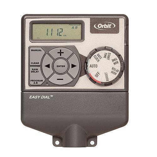 Minuterie darrosage intérieur Easy Dial À 6 stations