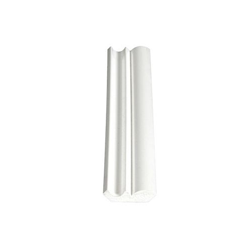 PVC Ogee/Crown 7/16 In. x 1-5/8 In. x 8 Ft.