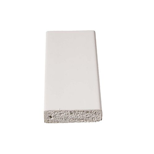 Alexandria Moulding Heurtoir de porte en PVC  - 3/8 x 1 1/4