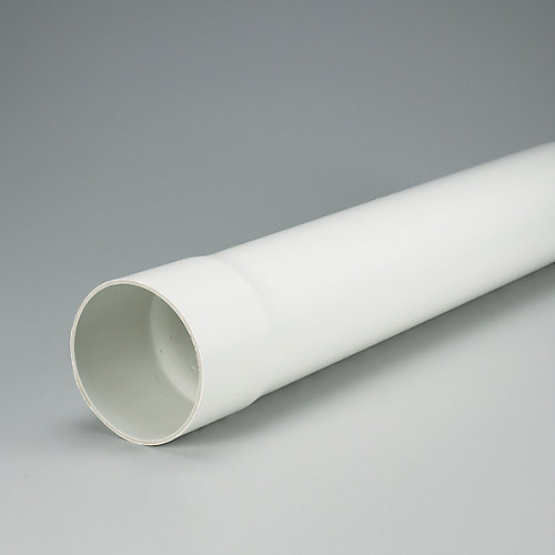 PVC 4 inches x 10 ft SOLID SEWER PIPE - Ecolotube