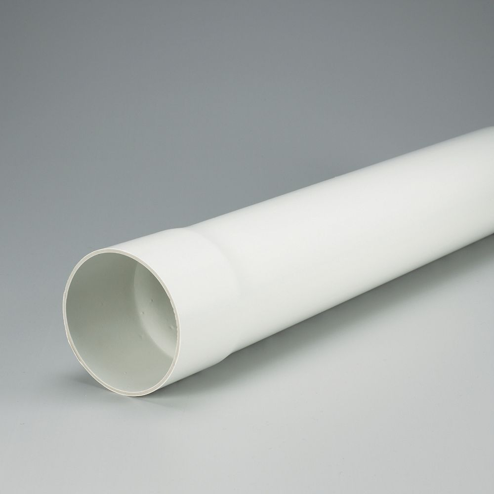 IPEX HomeRite Products PVC 4 inches x 10 ft SOLID SEWER PIPE - Ecolotube