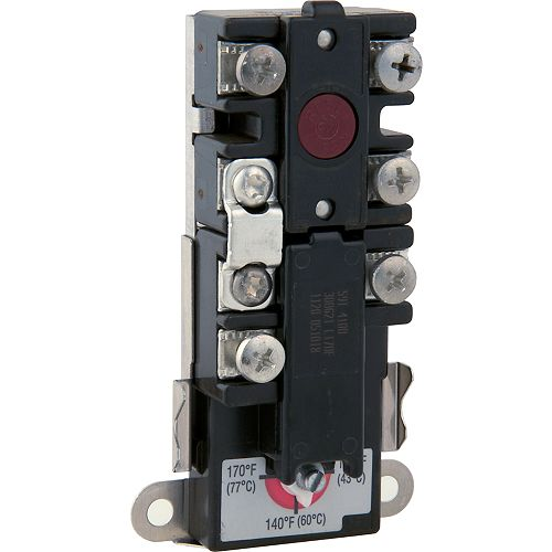 Upper Electric Water Heater Thermostat With Hi Limit Control