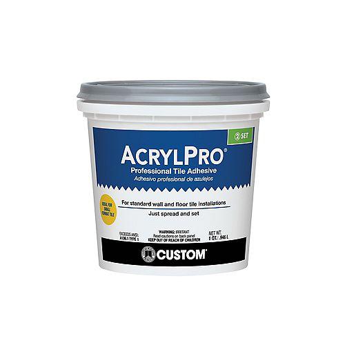 AcrylPro Ceramic Tile Adhesive (Type I) - Quart