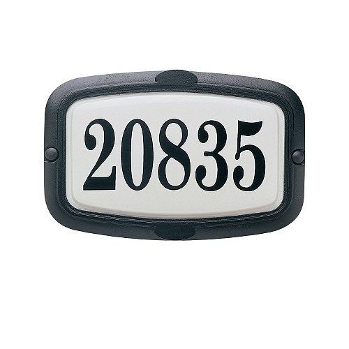 Vintage Series, Black Finish, Horizontal or Vertical Address Plate