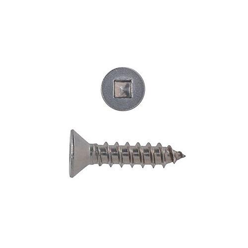 10-24x2 vis de mecanique phillips ovale inox.