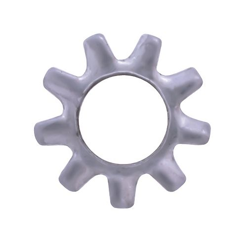 #8 410 Rondelles de serrure à dents extérieures en acier inoxydable