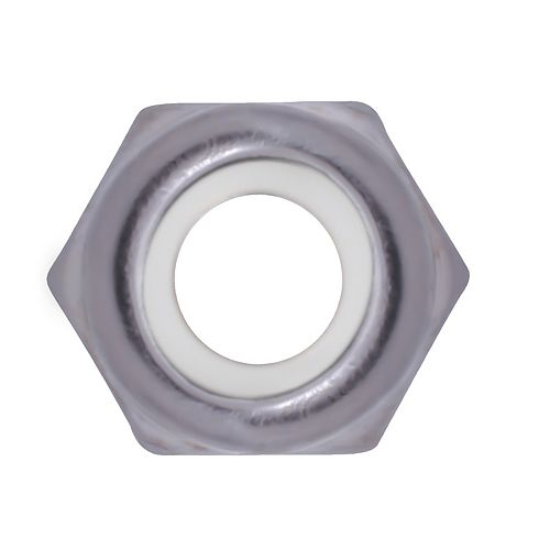 10-32 Écrou d'arrêt en nylon en acier inoxydable 18.8 - UNF