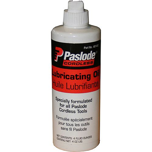 Cordless Nailer Lubrication Oil 4Oz Bottle