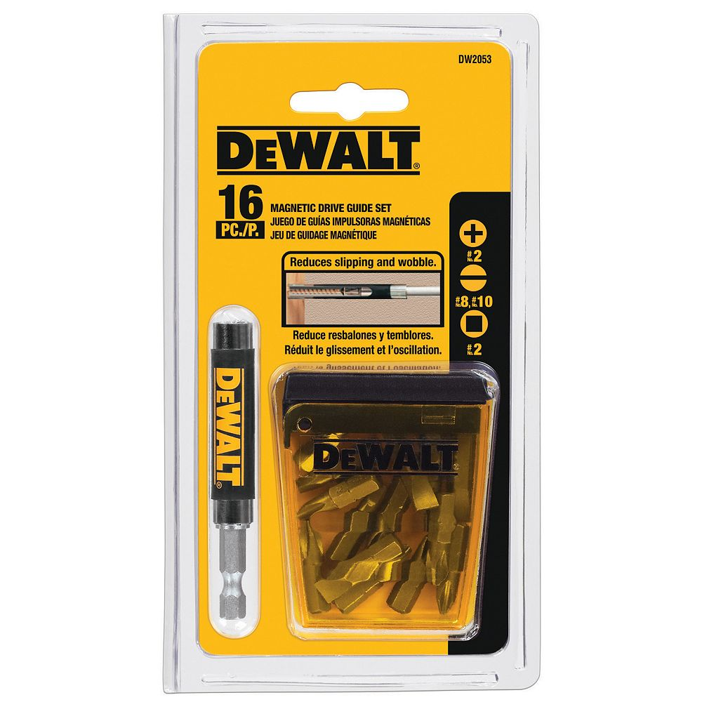 DEWALT 16-Piece Drive Guide Set