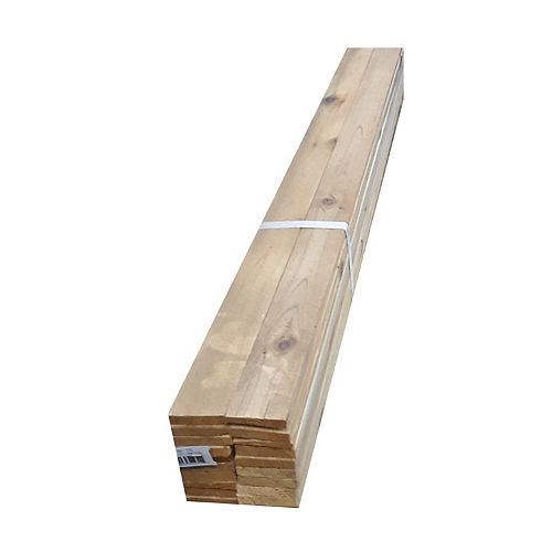 CanWel Building Materials Div Lath 5/16-inch x 48-inch, Western Red Cedar STK
