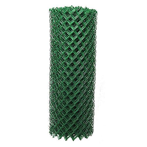 Green 11Ga Chain Link 1-1/2 inchX60 inchX50 foot