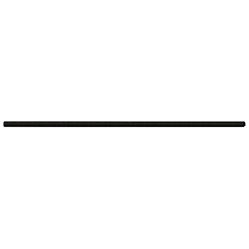 1-1/2 Inch x 7 Feet 6 Inch Black Chain Link Fence Line Post