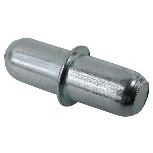 (Paquet de 8) Support à tablette duplo en métal - 3/16 po (5 mm) - zinc