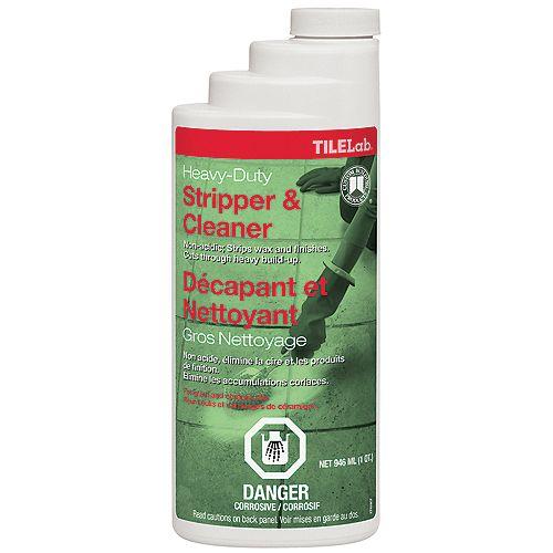 Custom Building Products TileLab Heavy-Duty Cleaner & Stripper - Quart