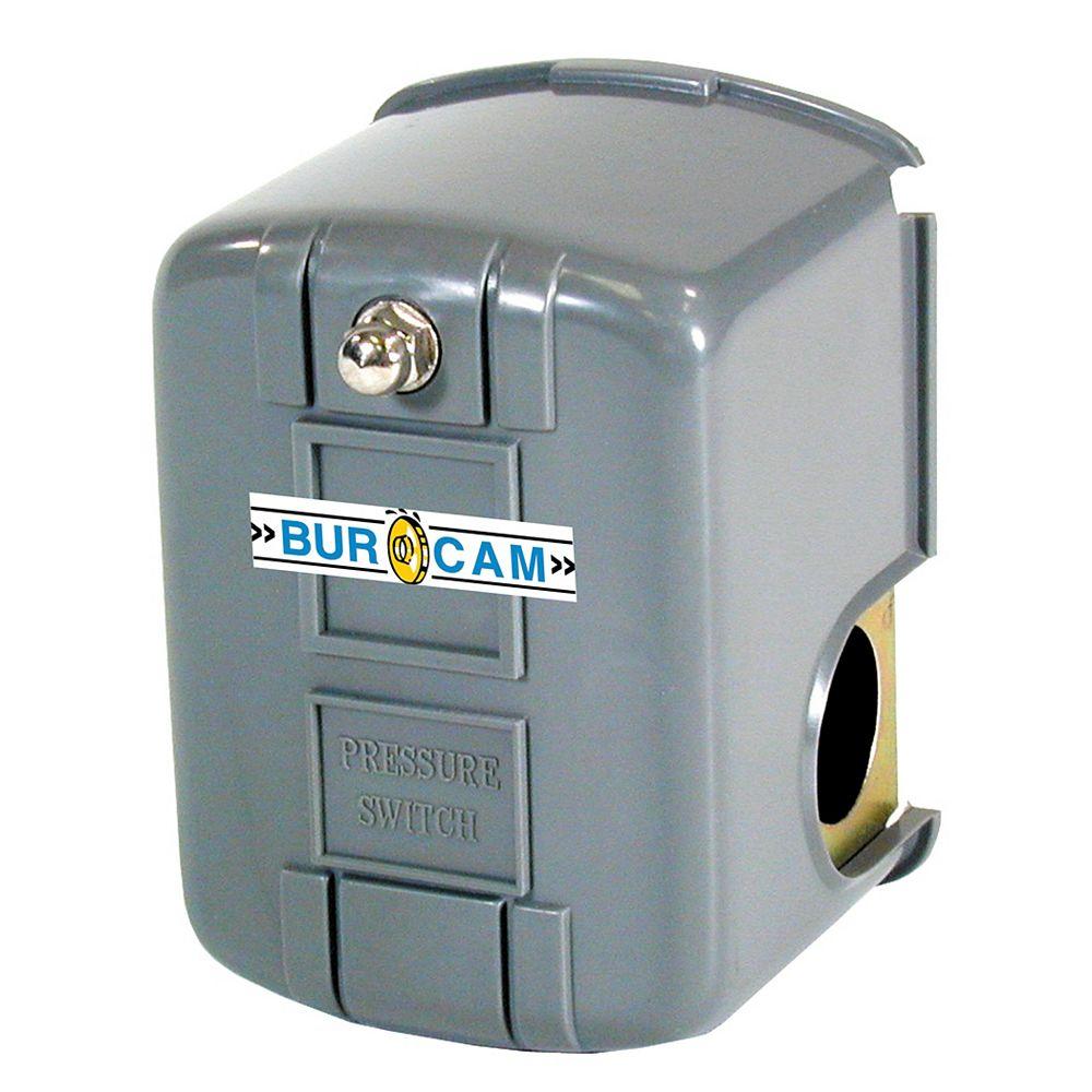 Bur-Cam Interrupteur A Pression  Fsg14 20/40 1/4  po Barb