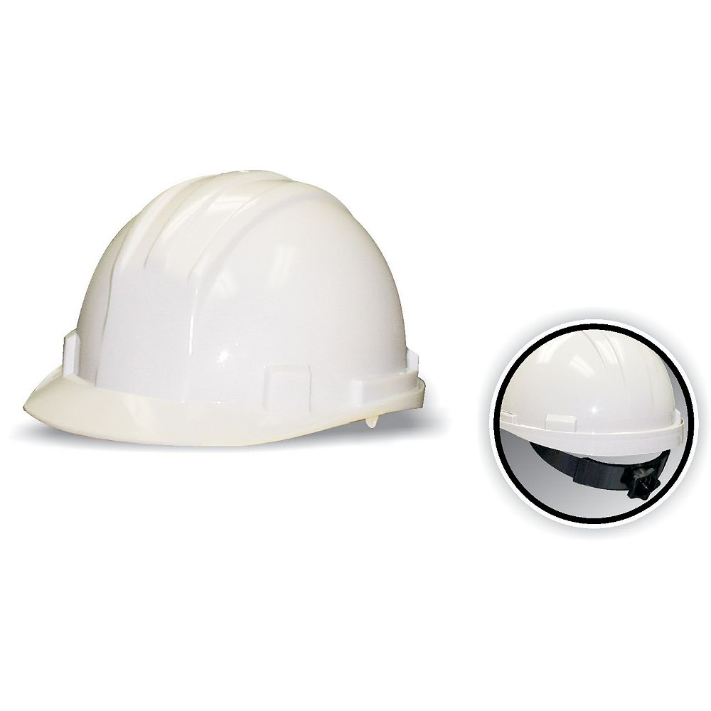 Workhorse CSA Approved Hard Hat White