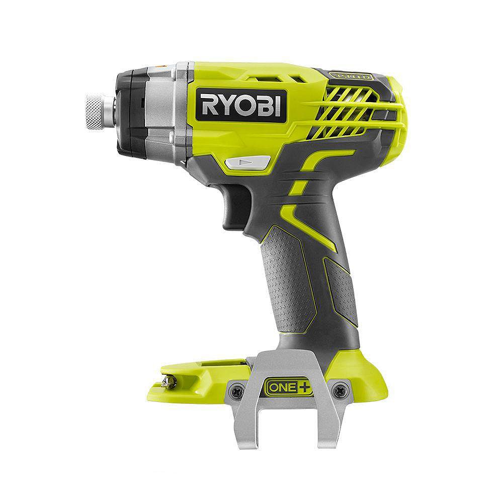 RYOBI 18V ONE+ Cordless 3-Speed 1/4-inch Hex Impact Driver with Belt Clip (Tool Only)