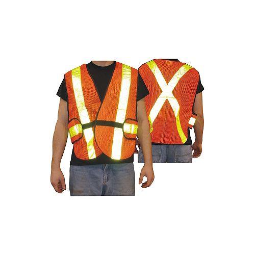 5 Point Tear Away Traffic Vest