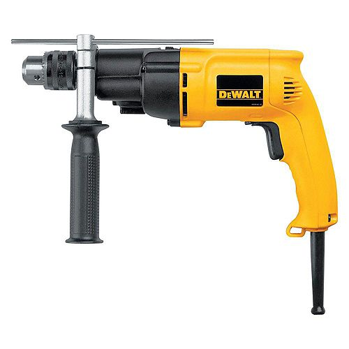 7.8 Amp 1/2-inch Variable Speed Reversing Dual-Range Hammer Drill with kit box