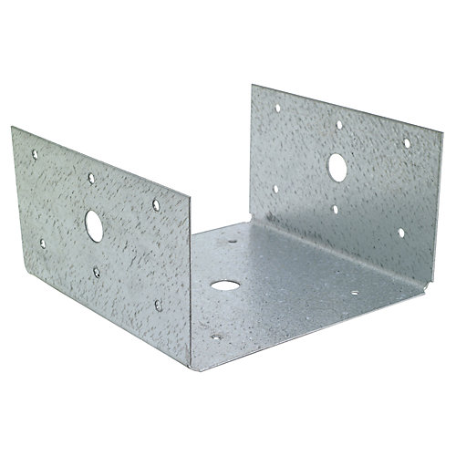 BC ZMAX Galvanized Post Base for 6x