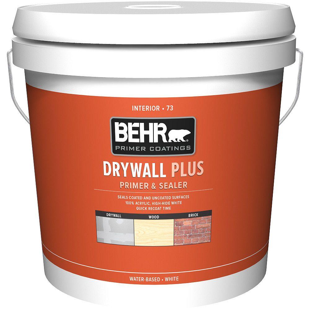Behr Premium Plus Drywall Plus Interior Primer & Sealer 73, 7.58L
