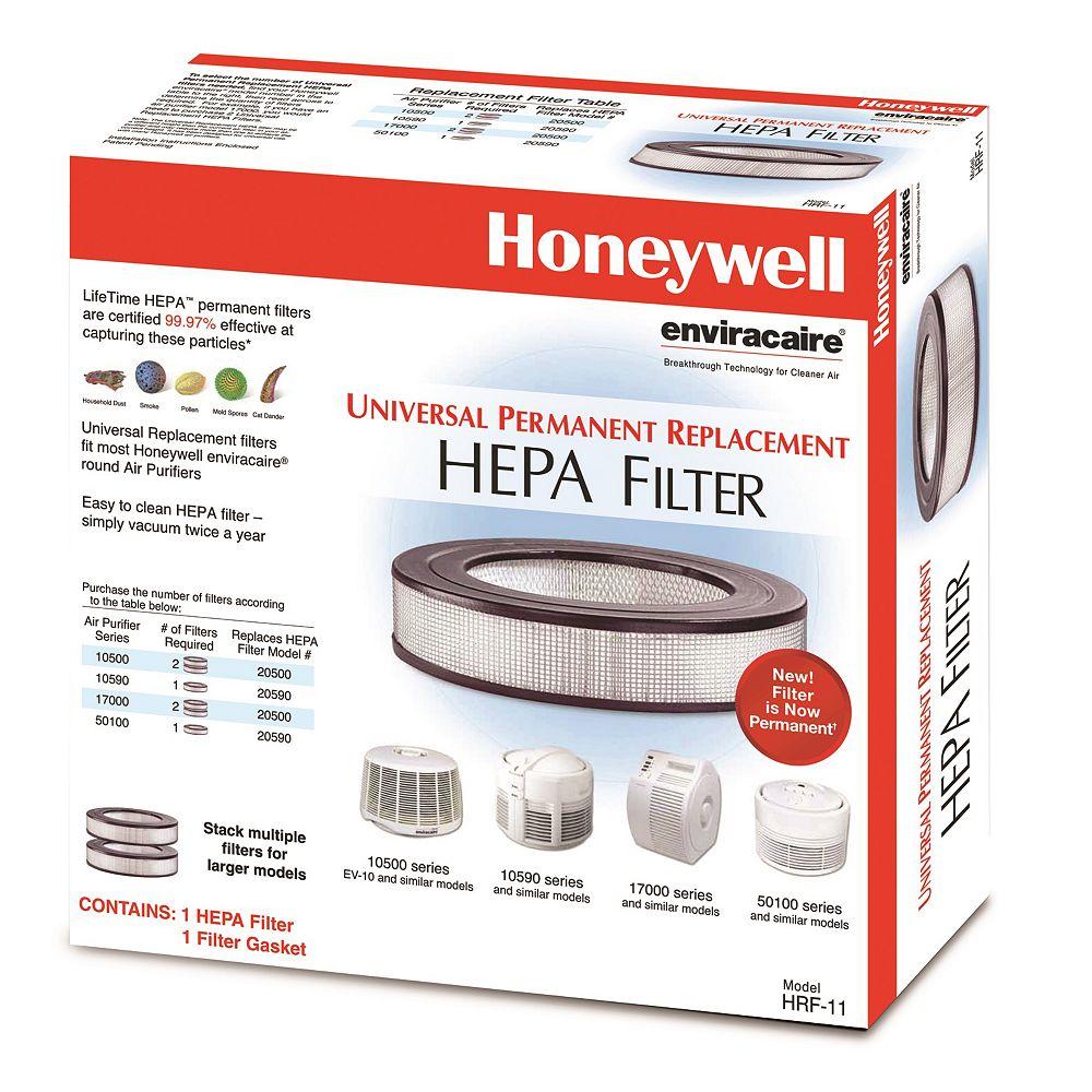 Honeywell Permanent LifeTime True HEPA Filter