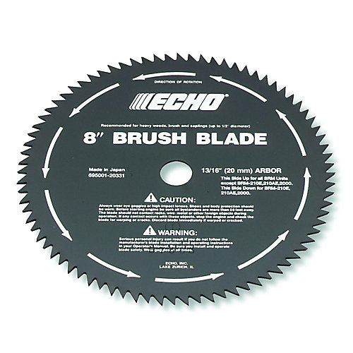 8-inch 80-Tooth Brush Blade