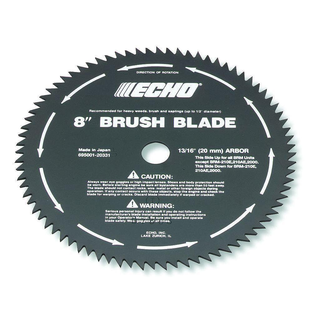 ECHO 8-inch 80-Tooth Brush Blade
