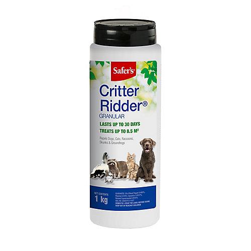 Critter Ridder répulsif pour animaux en granules – 1 KG