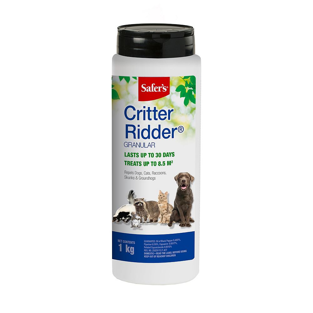 Safer Critter Ridder Animal Repellent Granules 1 Kg The Home Depot Canada